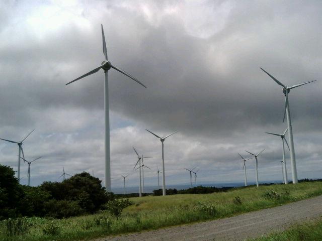 江差ウィンドパワー風力発電所